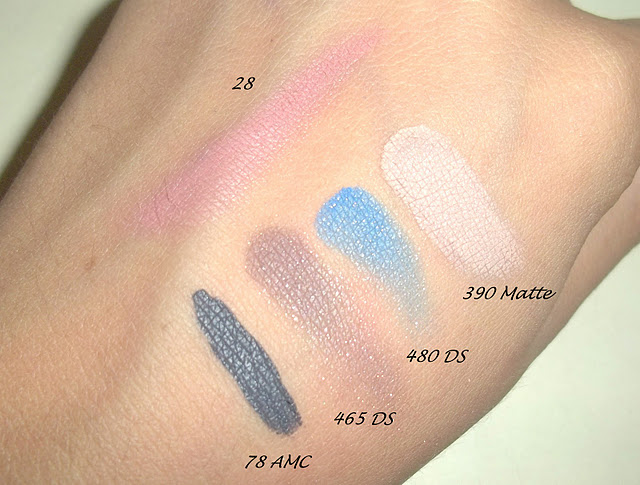 Some Inglot Eyeshadow, Blush Swatches From The Inglot Sale