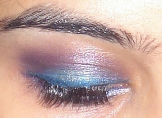 purple and blue eye makeup