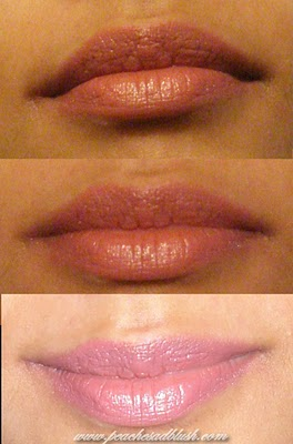 MAC Cosmo lipstick Lip swatch