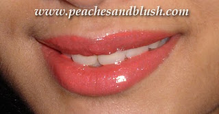 Bright Coral Lips with Flormar Super Shine Gloss  LOVE!