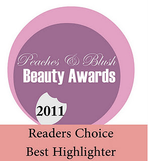 P&B Beauty Awards 2011: Readers Choice Results!!