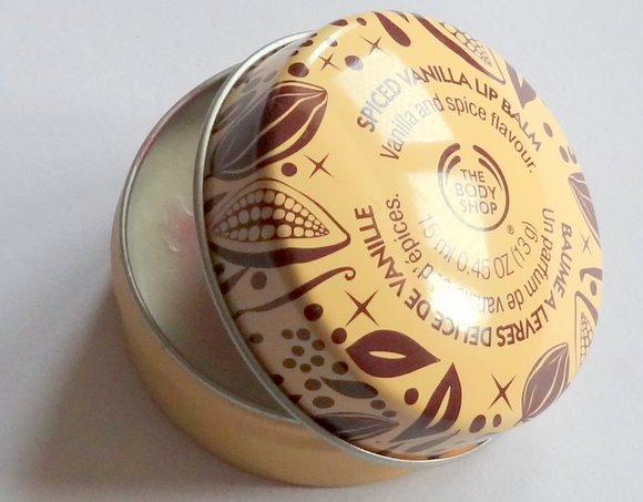 The Body Shop Spiced Vanilla Lip Balm
