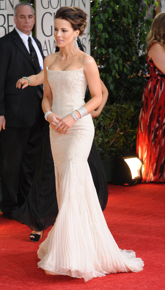 Kate Beckinsale Gown at Golden Globes 2012