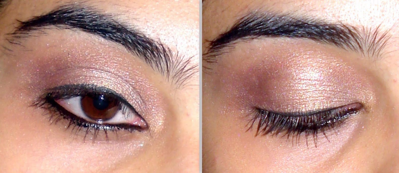 Neutral eye makeup tutorial using some mac favourites final result baditri Image collections