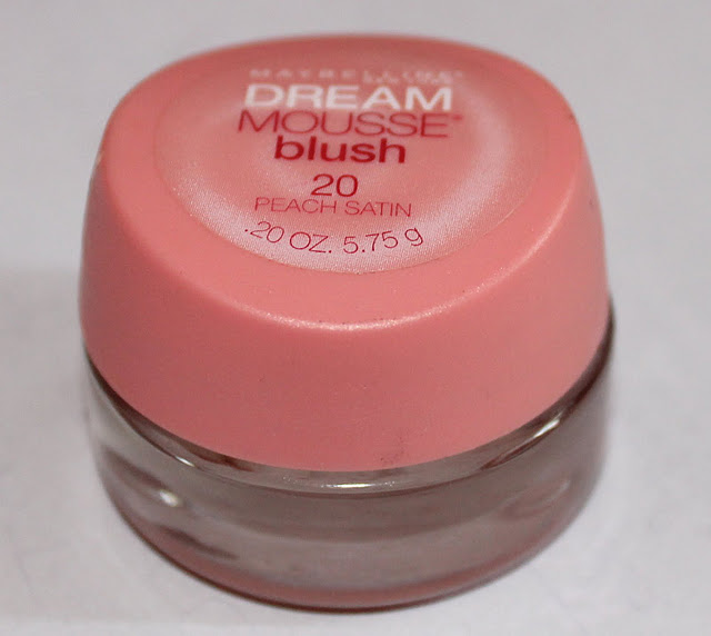 Maybelline Dream Mousse Blush in Peach Satin: Review, Swatches, Photos