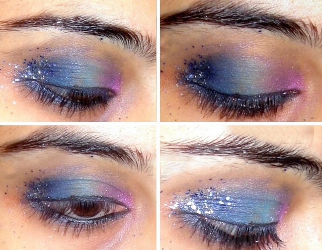 Fantasy Eye Makeup Look Of The Day: An Attempt!