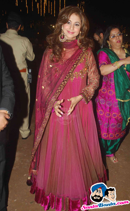 Urmila Matondkar attending a wedding reception I am a sucker for anarkali