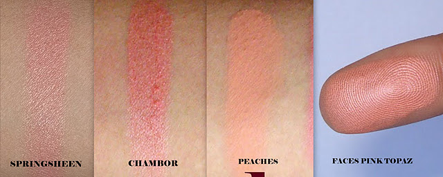 Five Great Peach Blushes: Fridays 5!