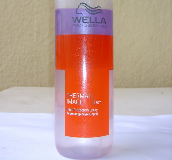 Wella Kolestint heat protectant review