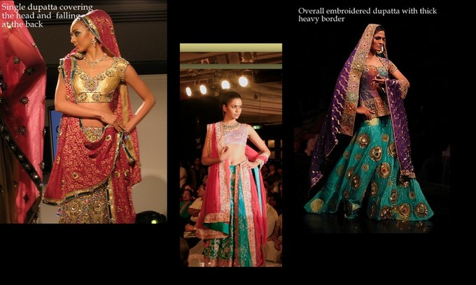 Lehenga Draping Styles for Brides!