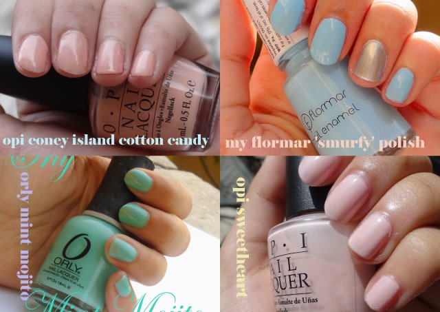 Pastel Nail Polishes for Spring Anyone?