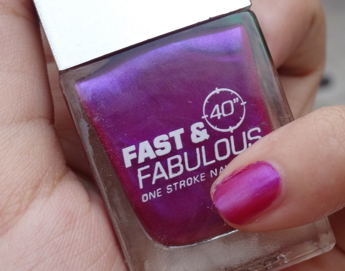 Lakme Absolute Fast & Fabulous Nail Polish Swatches
