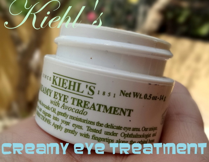 kiehls eye cream review