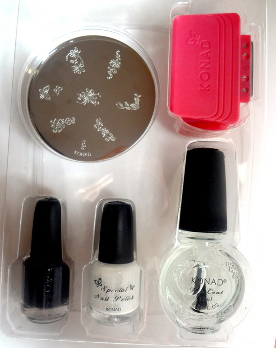 Konad stamping nail art kit review how to peachesandblush rating prinsesfo Images