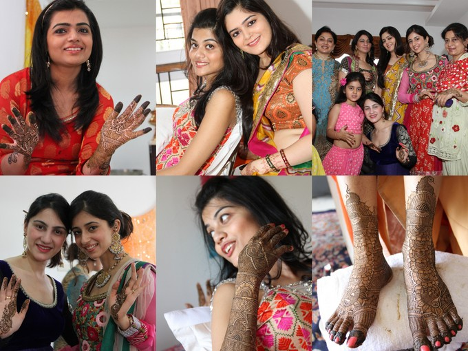 Bridal Files : The Mehendi