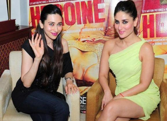 Reader Query: Whats on Karisma and Kareenas Lips?