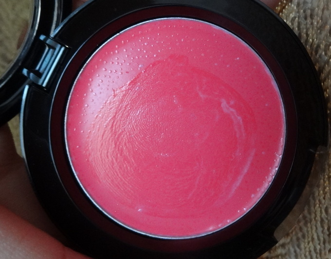 Nyx Hot Pink Cream Blush Review & Swatch