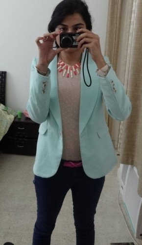 A Rushed, Pastel Outfit Of the Day