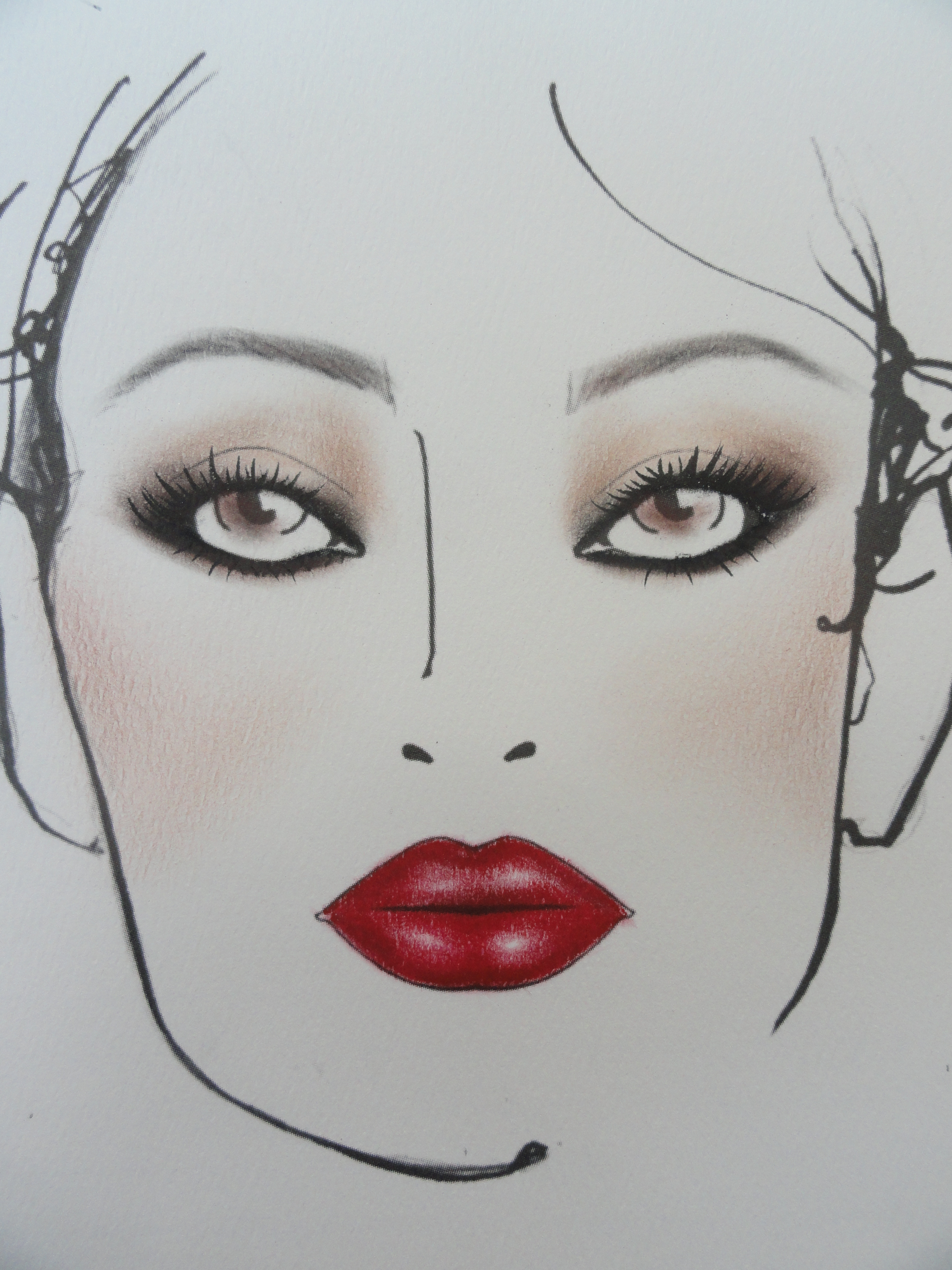 Wedding Trousseau Face Chart 2