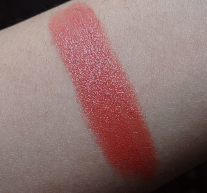 Colorbar Creme Touch Lipstick in Nude Coral: Swatches & Review