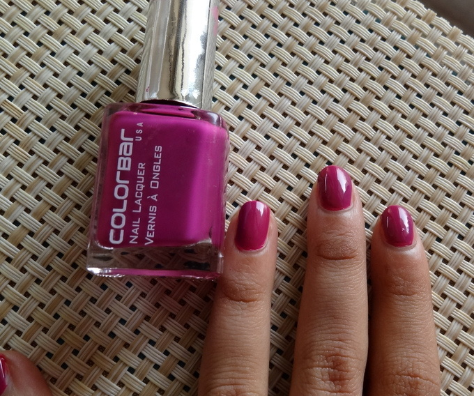 Colorbar Plum Grenadine Nail Lacquer Swatches