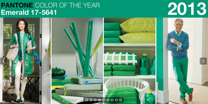 Pantone 2013 Color of the Year is ...