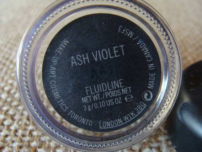 Mac Ash Violet Fluidline: Swatch & Review