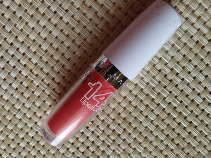 Maybelline Superstay 14 Hr Lipstick Review: Stay With Me Coral